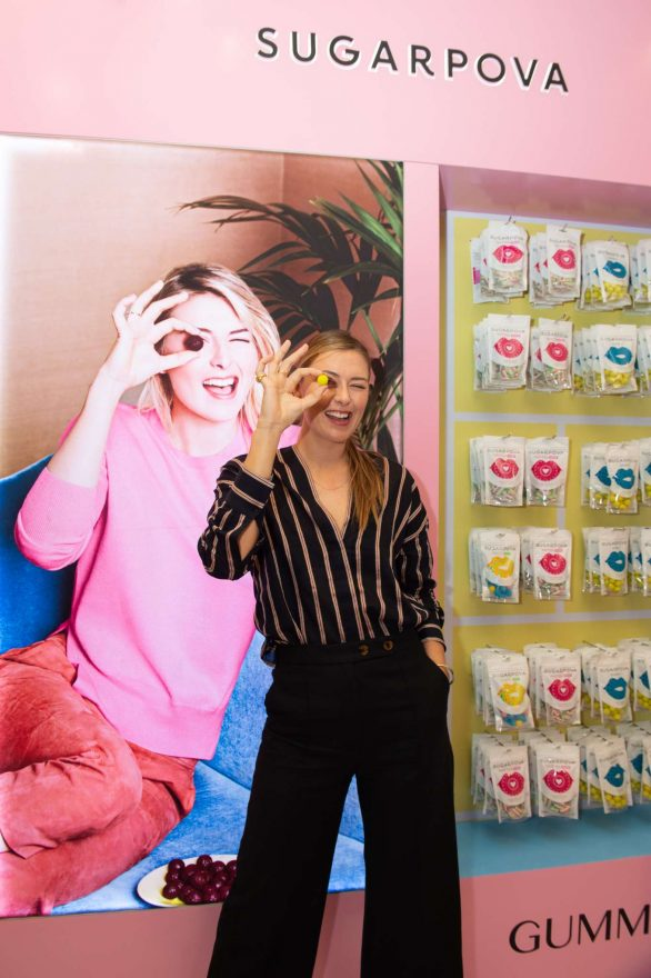 Maria Sharapova - Sugarpova Meet & Greet at the Candylicious Store in Dubai