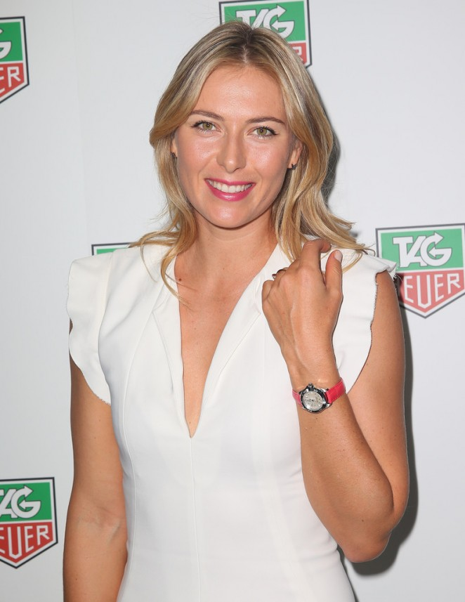 Maria Sharapova - TAG Heuer Party in Melbourne