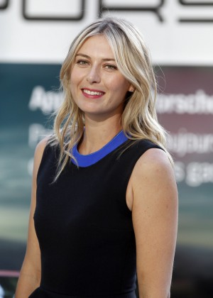 Maria Sharapova - 'Taste of Paris' Porsche Event In Paris