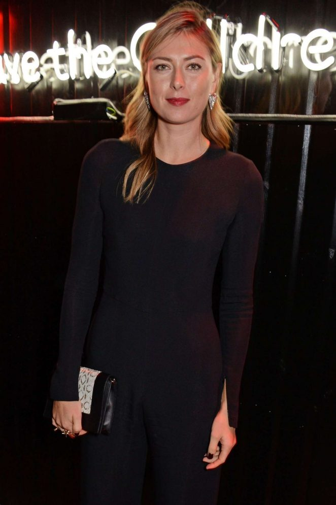 Maria Sharapova – The Big Up Uganda Fundraising Gala for Save The Children in London