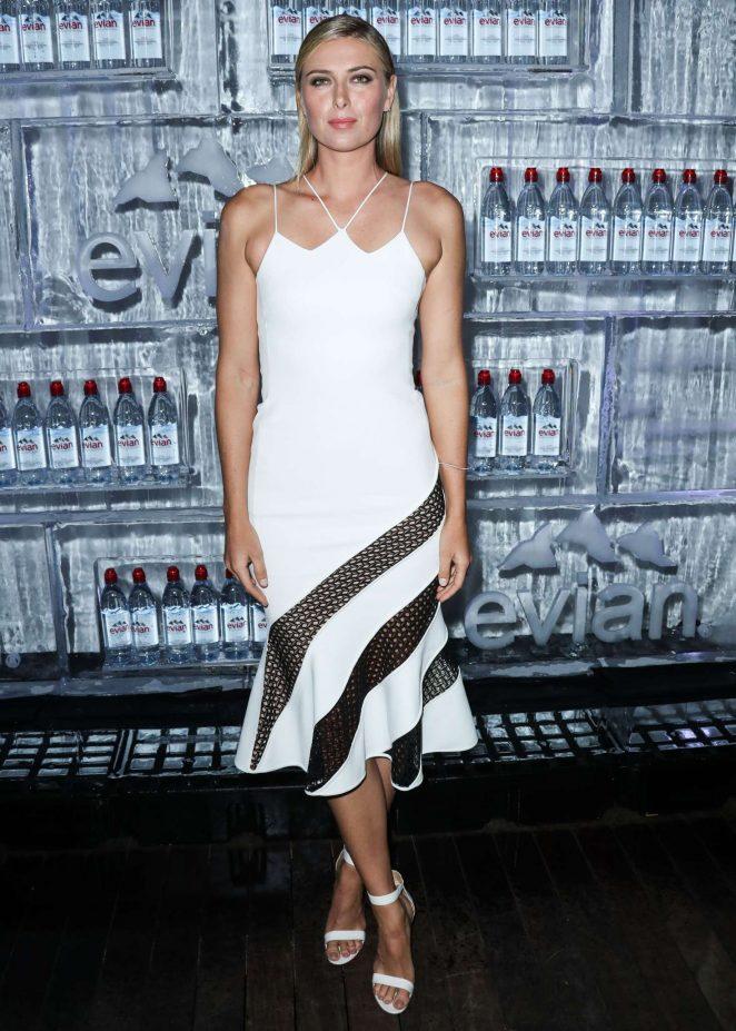 Maria Sharapova - Unveil Latest Evian Global Ambassador and New Ad Campaign in LA