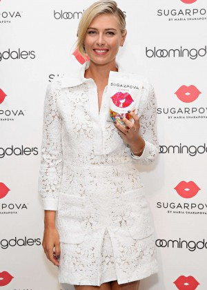 Maria Sharapova - Unveils the new Sugarpova Pop-Up Shop at Bloomingdale's in NYC