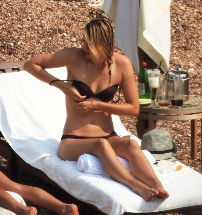 Maria Sharapova in Bikini in Montenegro