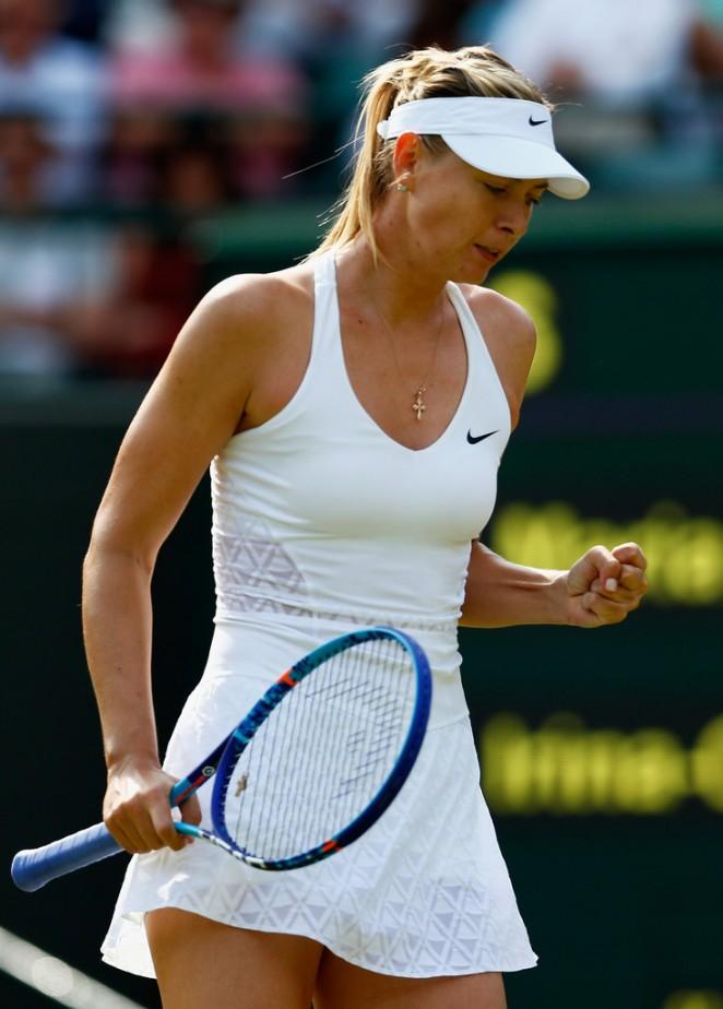 Maria Sharapova - Maria Sharapova Photos - Day One: The