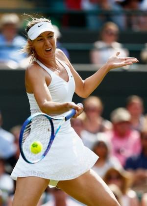 Maria Sharapova - Wimbledon Tennis Championships 2015 in London
