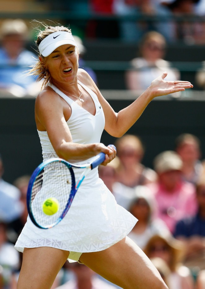 Maria Sharapova - Wimbledon Tennis Championships 2015 in London
