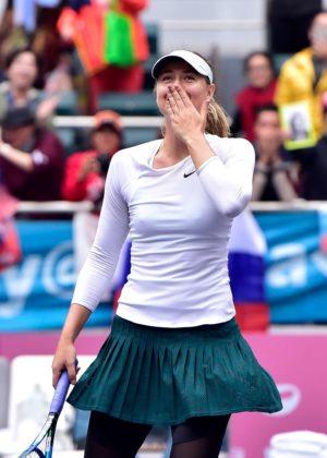 Maria Sharapova - WTA 2017 Tianjin Open Finals in China