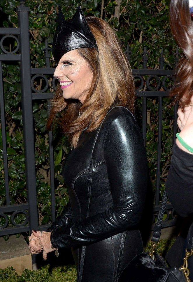 Maria Shriver - Casa Tequila Halloween Party in Beverly Hills