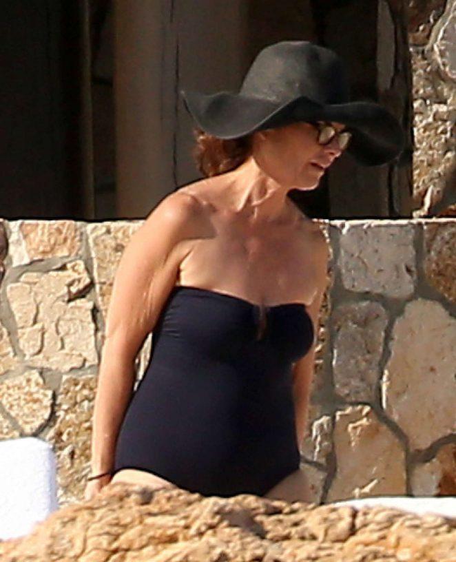Maria shriver bikini seems me