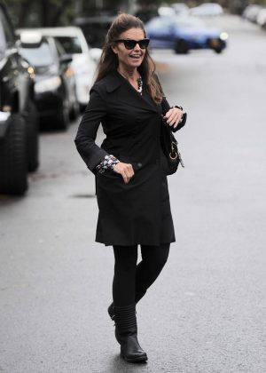 Maria Shriver out in West Hollywood