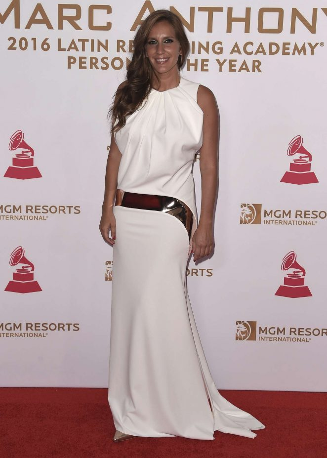 Maria Toledo - 2016 Latin Recording Academy Person of the Year in Las Vegas
