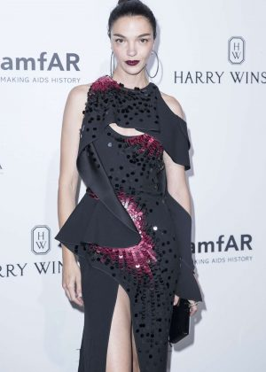 Mariacarla Boscono - Amfar Paris Dinner 2016 in Paris