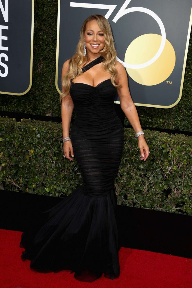 Mariah Carey Dress Golden Globes