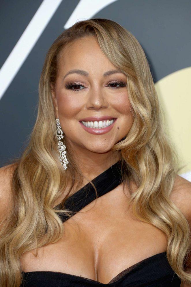 Mariah Carey - 2018 Golden Globe Awards in Beverly Hills