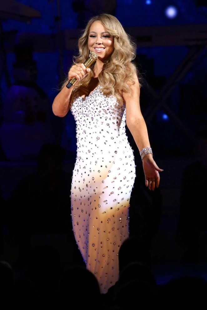 mariah carey 2015 all i want for christmas is you concert 08