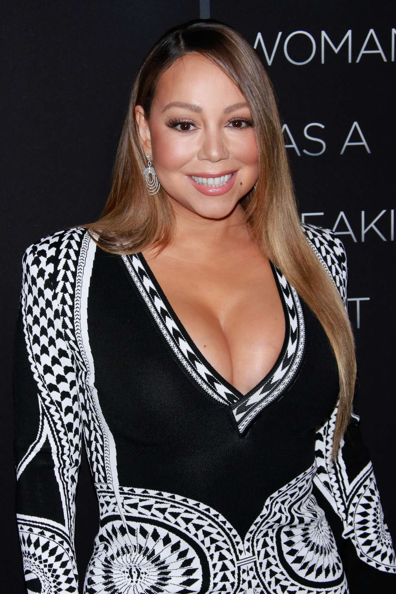 Mariah Carey - 'A Fall From Grace' Premiere in New York City