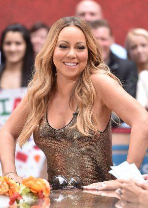 Mariah Carey - Access Hollywood at Rockefeller Center in New York