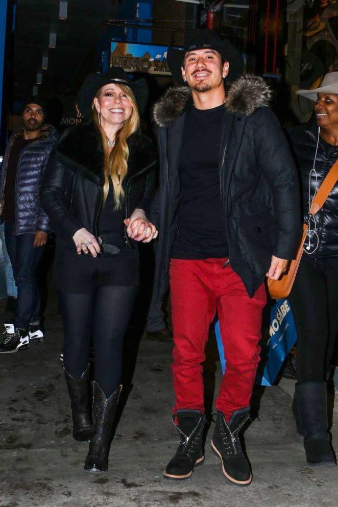 Mariah Carey and Brian Tanaka - Out in Aspen