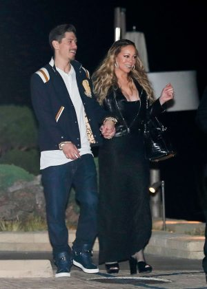 Mariah Carey and Bryan Tanaka at Nobu in Malibu