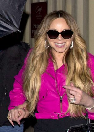 Mariah Carey - Arrives at Craig's in West Hollywood