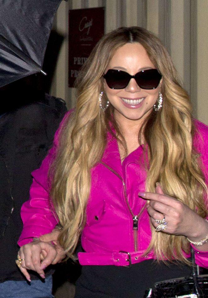 Mariah Carey - Arrives at Craig's in West Hollywood