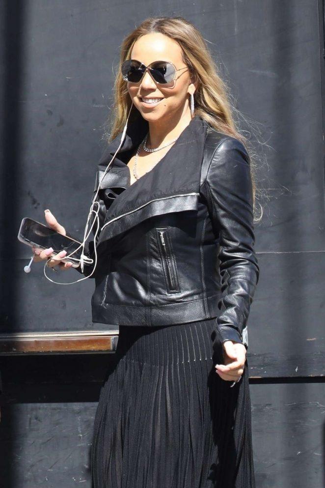 Mariah Carey - Arrives at the El Capitan Theatre in Hollywood