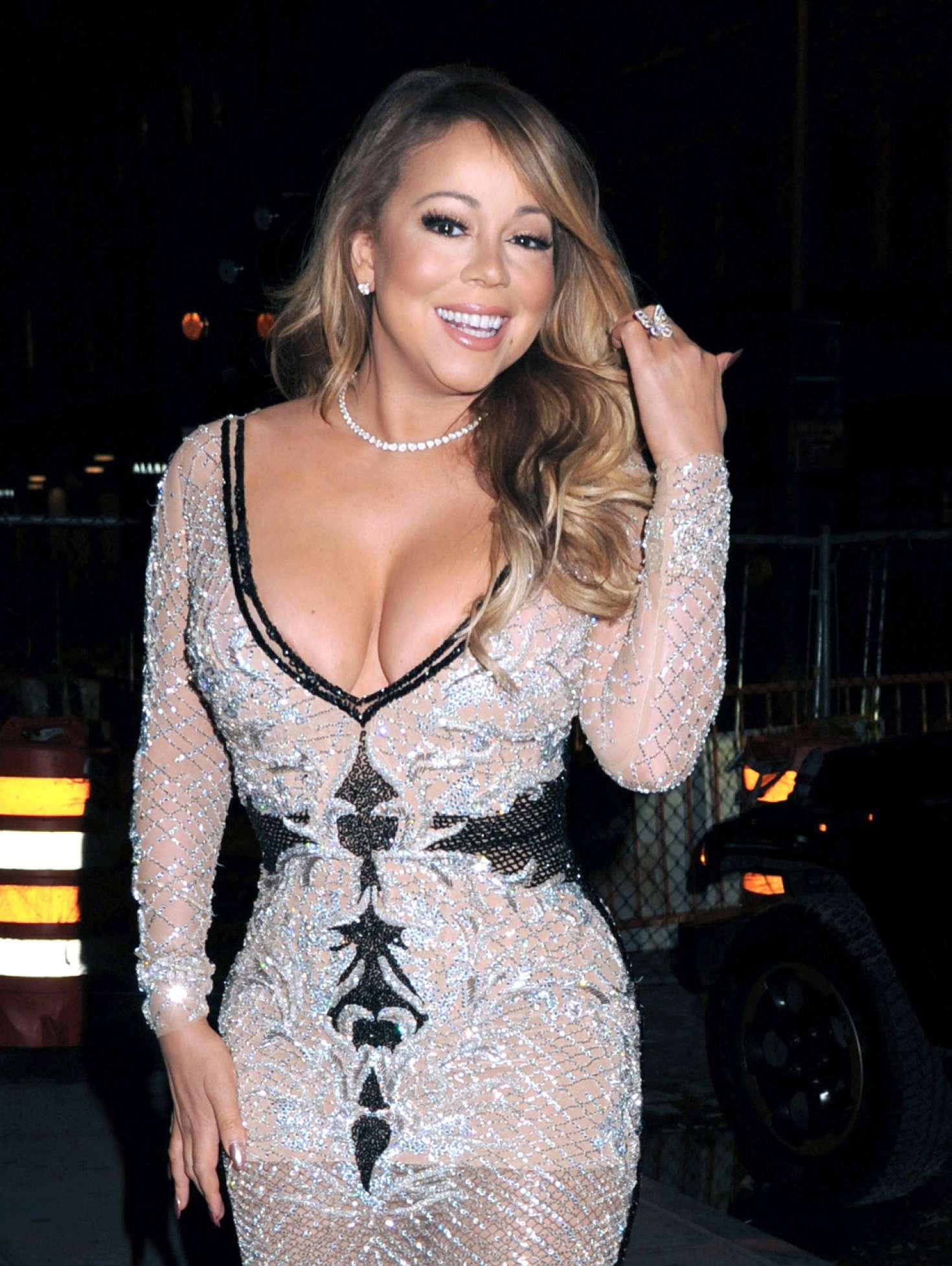 Mariah Carey Arrives To Mariah S World On E Launch