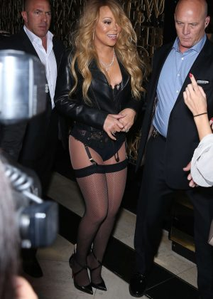 Mariah Carey - Arriving 1 OAK inside The Mirage in Las Vegas