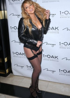 Mariah Carey at 1 OAK inside The Mirage in Las Vegas