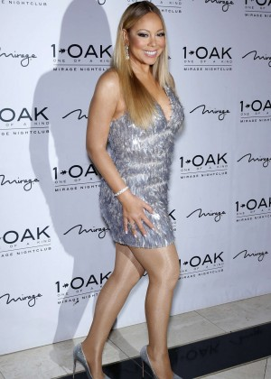 Mariah Carey at 1 OAK Nightclub in Las Vegas