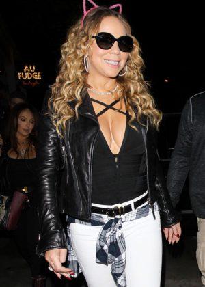 Mariah Carey at Au Fudge in Hollywood
