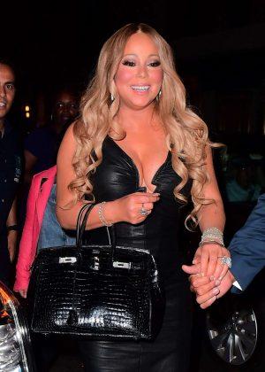 Mariah Carey at Madison Square Garden in New York