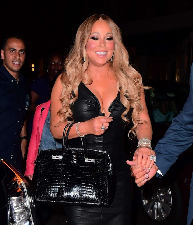 Mariah Carey at Madison Square Garden in New York