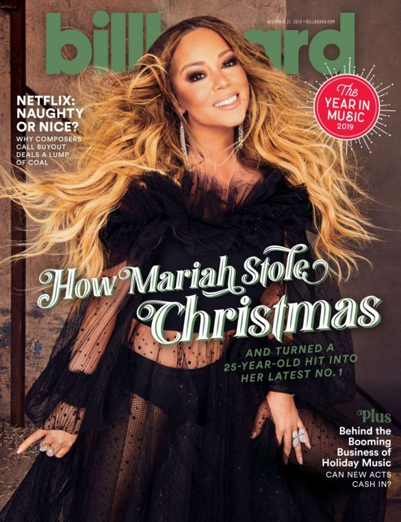 Mariah Carey - Billboard Magazine (December 2019)