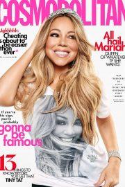 Mariah Carey - Cosmopolitan Magazine  August 2019