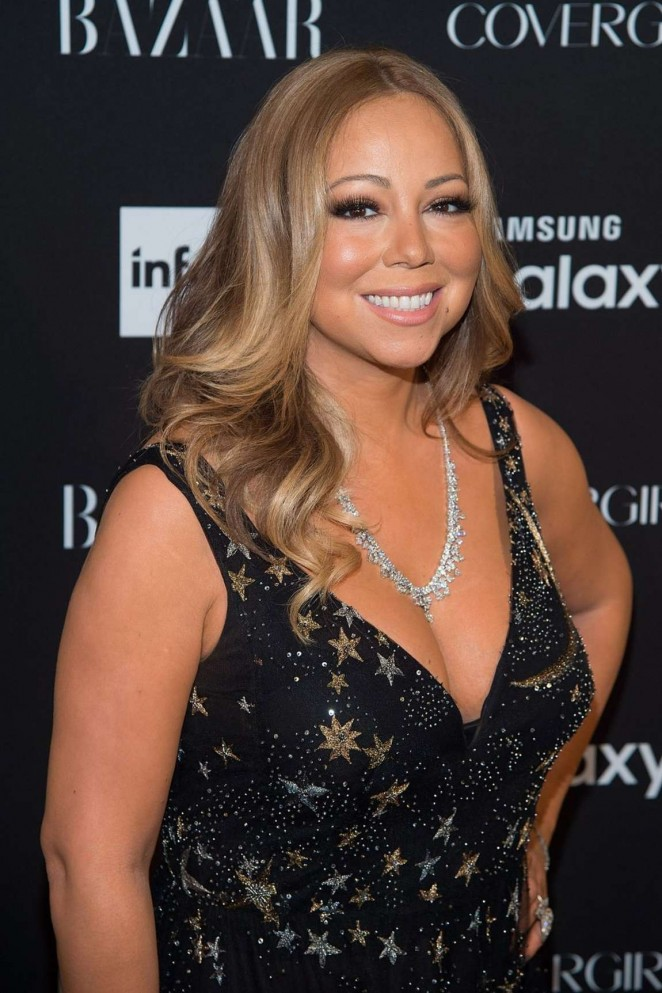 Mariah Carey - Harpers Bazaar ICONS Event in NY