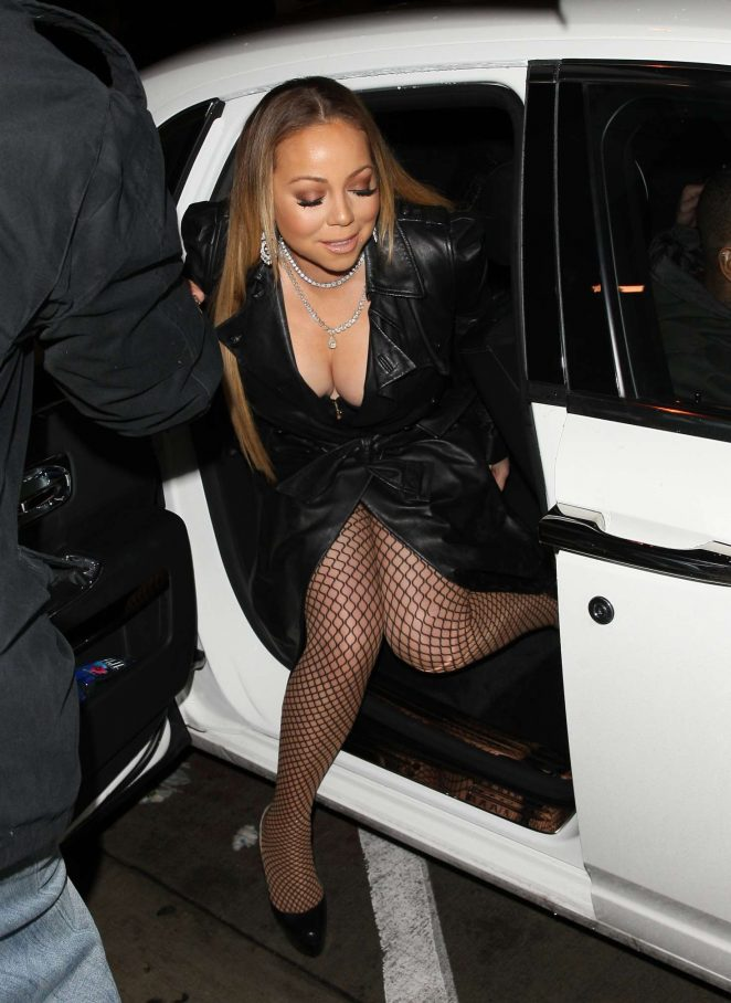 Mariah Carey - Head to Catch Restaurant in West Hollywood