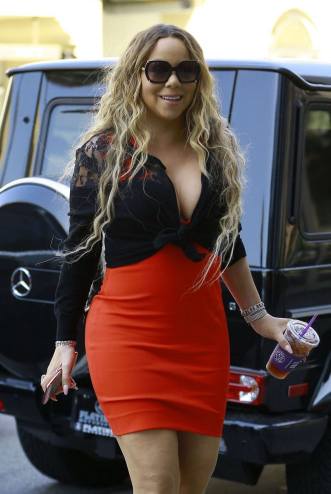 Mariah Carey - Heading at the MGM Building in Beverly Hills