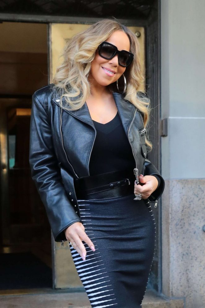 Mariah Carey – Heads out to promote her new album 'Caution' in NY