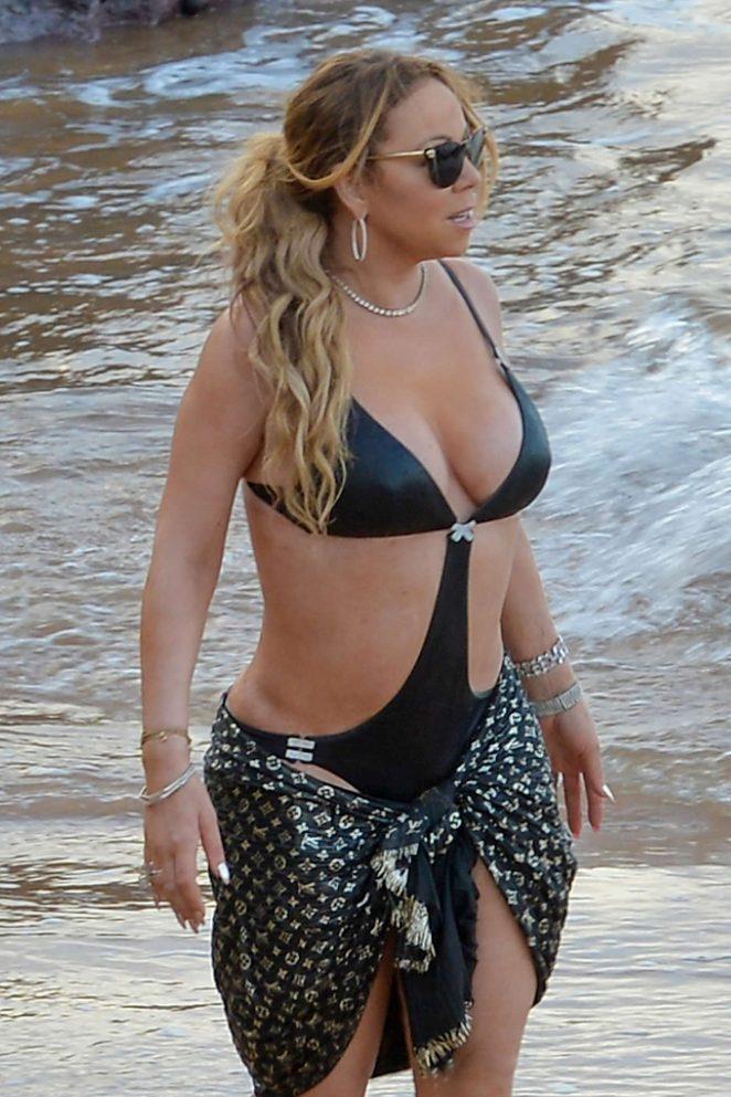 Mariah carey topless bikini 1