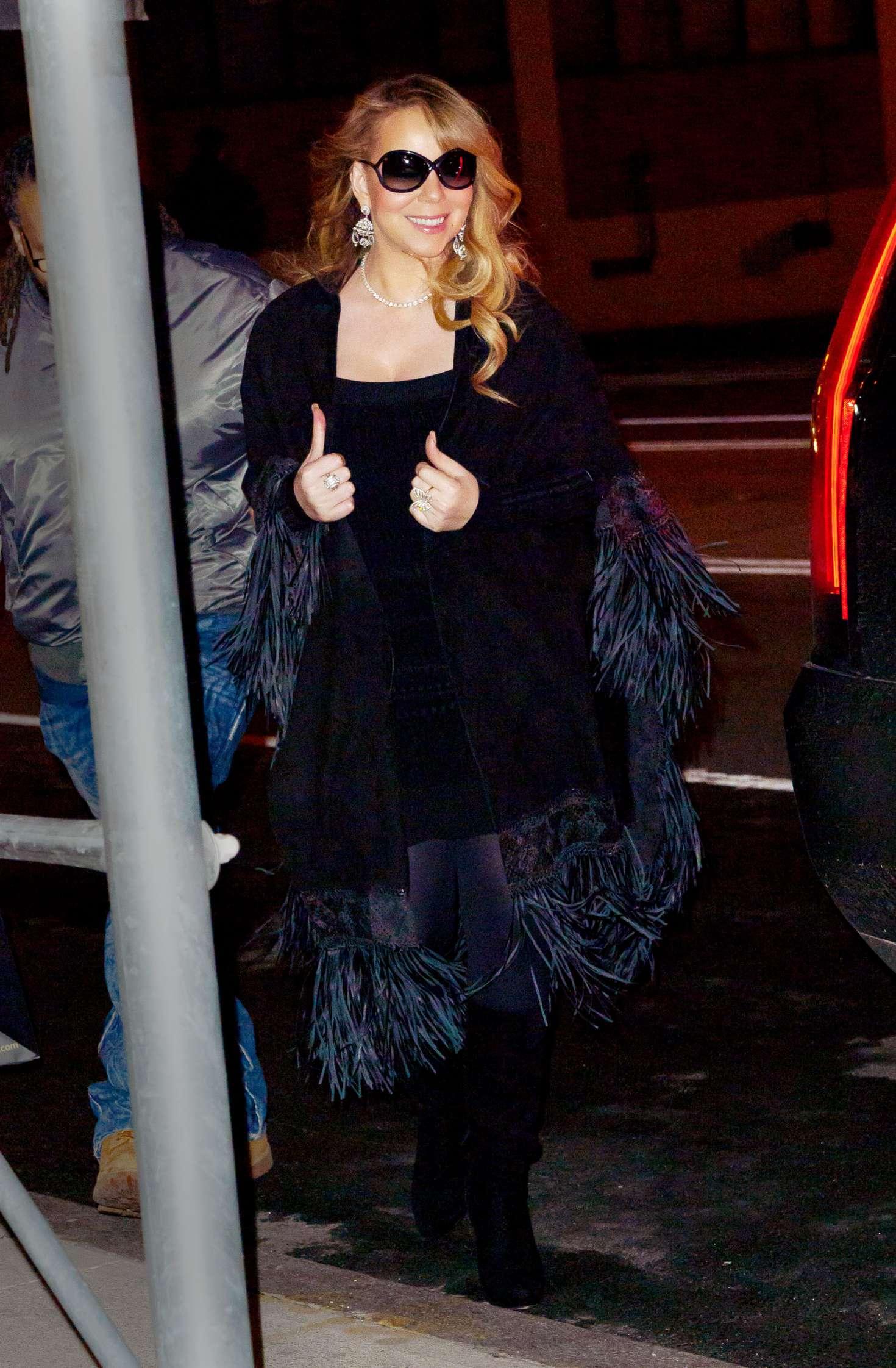 Mini Las Vegas >> Mariah Carey in Mini Dress -10 | GotCeleb