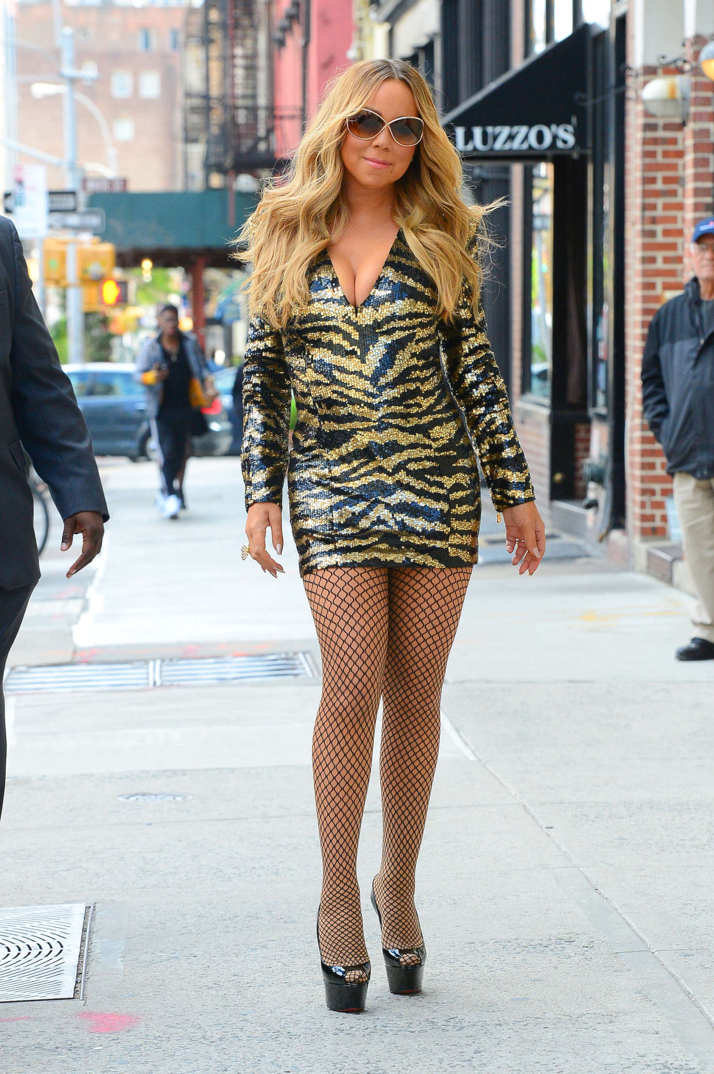 Mariah Carey In Short Dress 04 Gotceleb