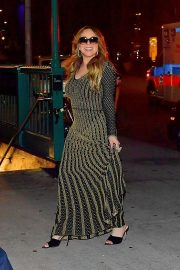 Mariah Carey - Leaves a Restaurant in New York City