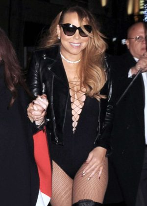Mariah Carey - Leaves the Beacon Theatre in New York