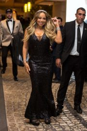 Mariah Carey - Leaving the Hotel Martinez in Cannes