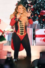 Mariah Carey - Live onstage during 'All I Want For Christmas Is You' tour in NYC