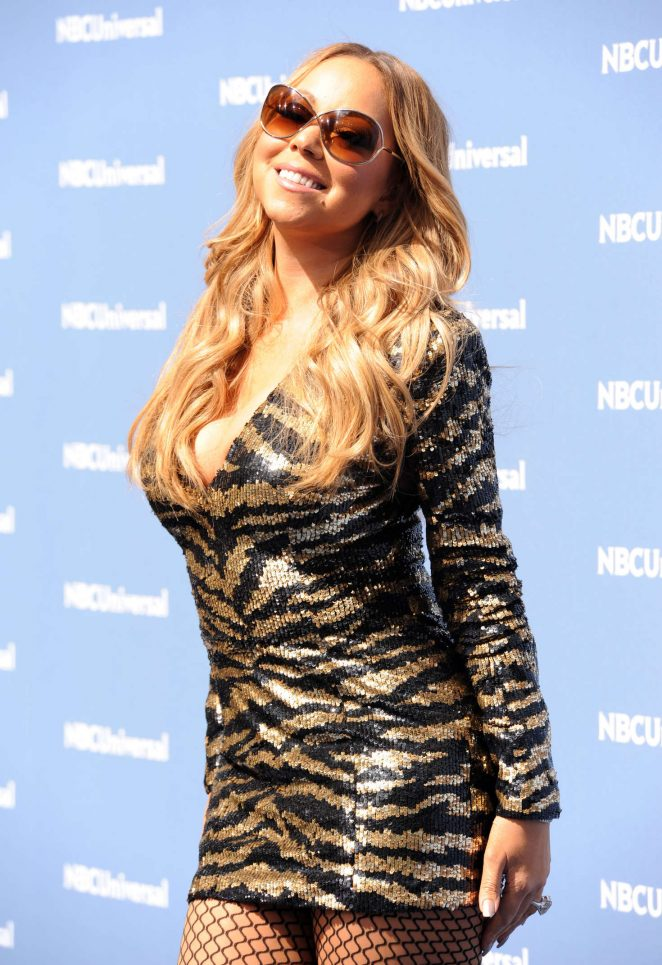 Mariah Carey - NBCUniversal Upfront Presentation 2016 in New York City