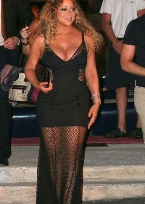 Mariah Carey - Night Out in Ibiza