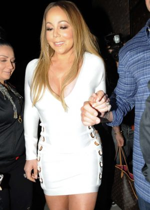 Mariah Carey - Night Out in Los Angeles