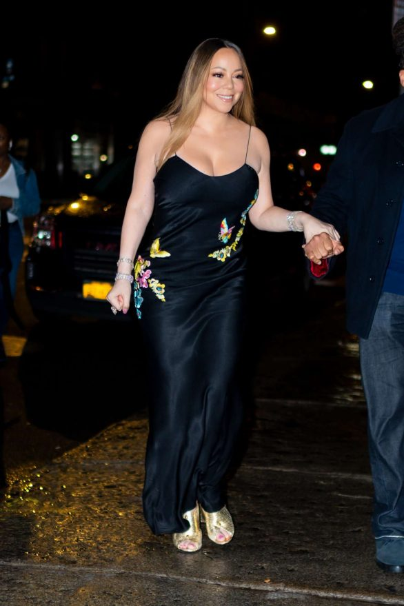 Mariah Carey - Night out in New York City
